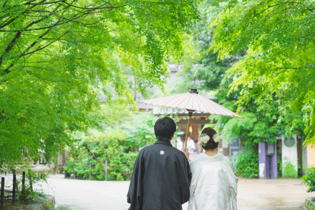 2021年 6月 19日 挙式:宇治上神社 祝宴:花やしき浮舟園 (☆☆様 ☆☆様)