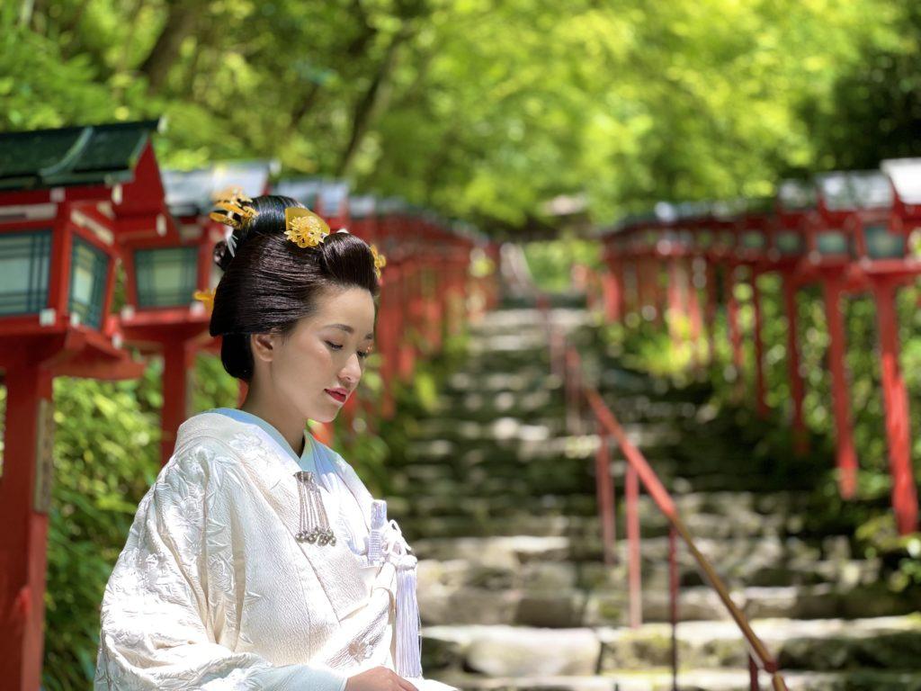 日本髪・地毛結いで迎える挙式
