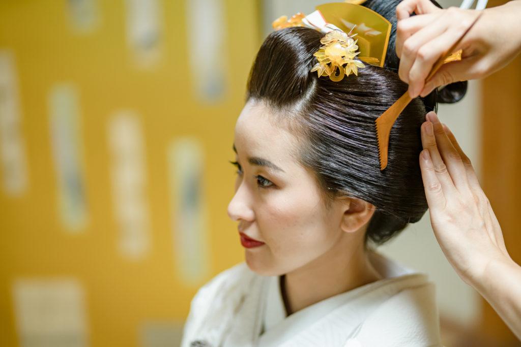 あきらめていませんか? 地毛結い・日本髪